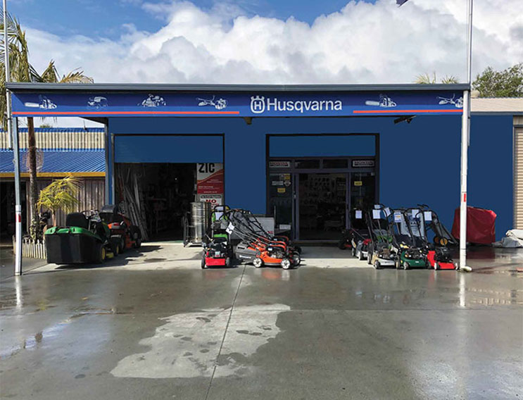 Mangonui Mowers & Chainsaws Ltd shop front